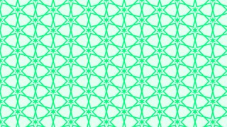 Spring Green Star Background Pattern Illustrator