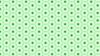 Light Green Seamless Star Background Pattern Vector Art