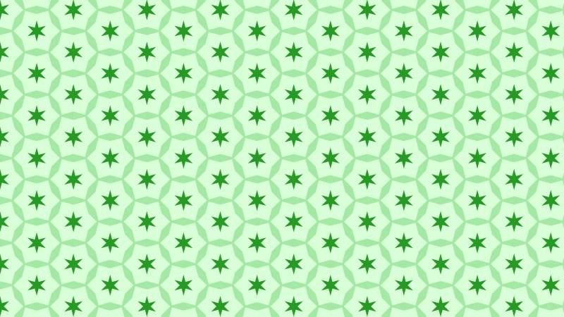 Light Green Seamless Star Background Pattern Vector Art