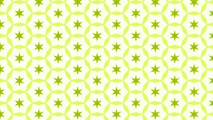 Light Green Stars Pattern Background Illustration