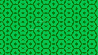 Green Seamless Stars Background Pattern Vector Image