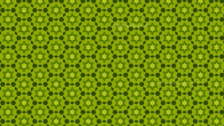Green Seamless Star Pattern