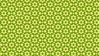 Green Stars Background Pattern