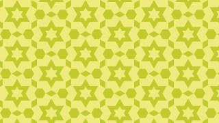 Green Seamless Stars Pattern