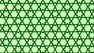 Green Star Background Pattern Graphic