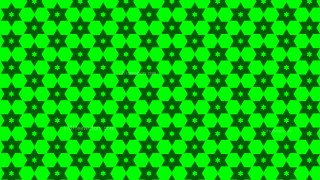 Neon Green Stars Background Pattern Illustrator