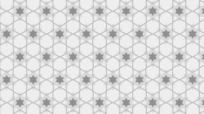 Light Grey Stars Background Pattern