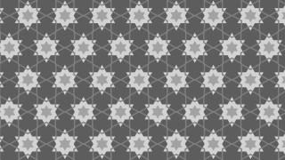 Grey Star Pattern Background Image