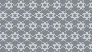Grey Seamless Star Pattern Background Illustrator
