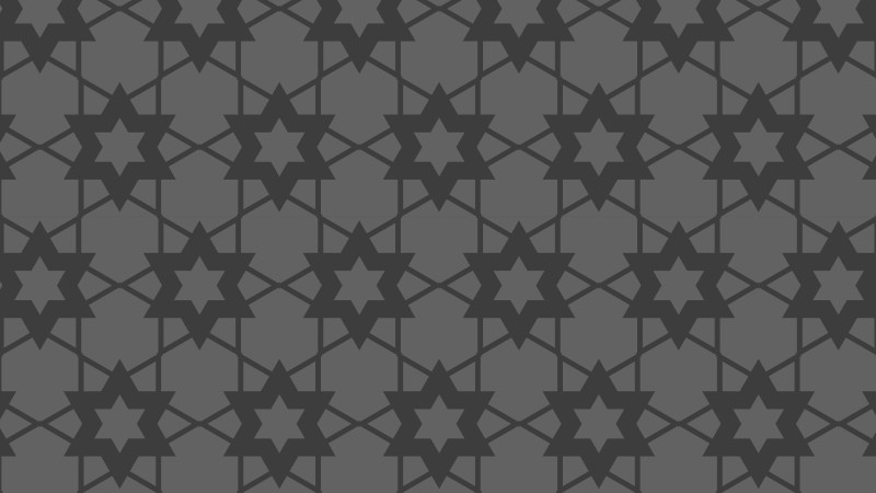 Dark Grey Stars Pattern Background Vector Art