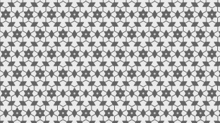 Grey Seamless Stars Pattern Illustration