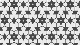 Grey Seamless Stars Background Pattern Image
