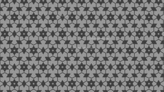 Dark Grey Star Background Pattern