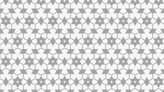 Light Grey Stars Pattern