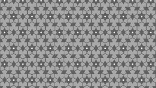Grey Star Pattern Illustrator