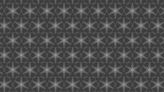 Dark Grey Seamless Star Pattern Background Graphic