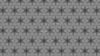 Grey Stars Pattern Design