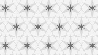 Grey Seamless Stars Pattern Vector Image