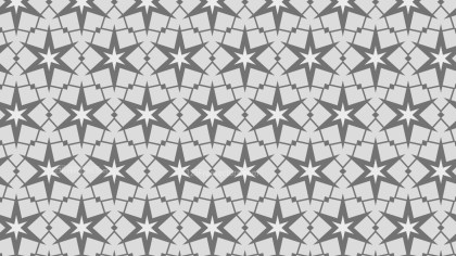 Grey Stars Pattern