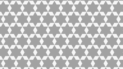 Grey Star Pattern Graphic