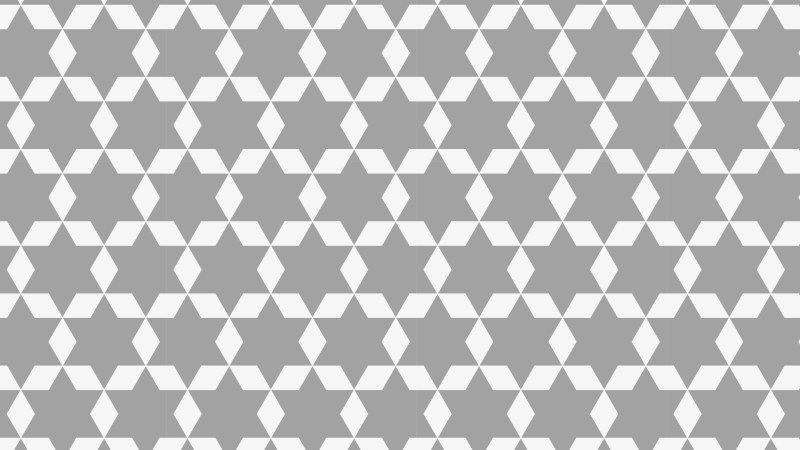 Grey Star Pattern Graphic