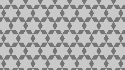 Grey Star Pattern Background Illustration