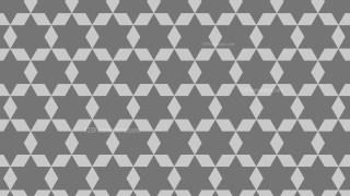 Grey Star Background Pattern Design