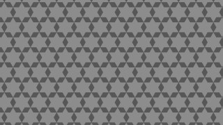 Dark Grey Seamless Star Pattern Image