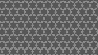 Dark Grey Seamless Star Pattern Background Vector Graphic