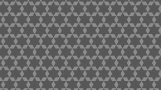Dark Grey Seamless Star Pattern Background Vector Graphic