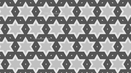Grey Stars Pattern Illustrator