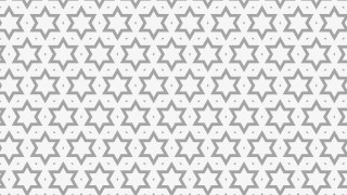 Light Grey Stars Pattern Background Vector Illustration