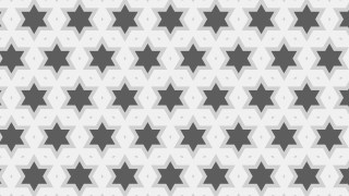 Grey Seamless Stars Pattern Vector Art