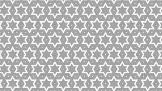 Grey Seamless Stars Background Pattern Illustration