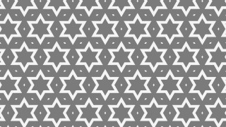 Grey Star Pattern