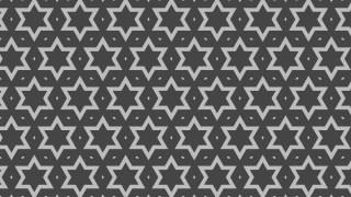 Dark Grey Star Pattern Background