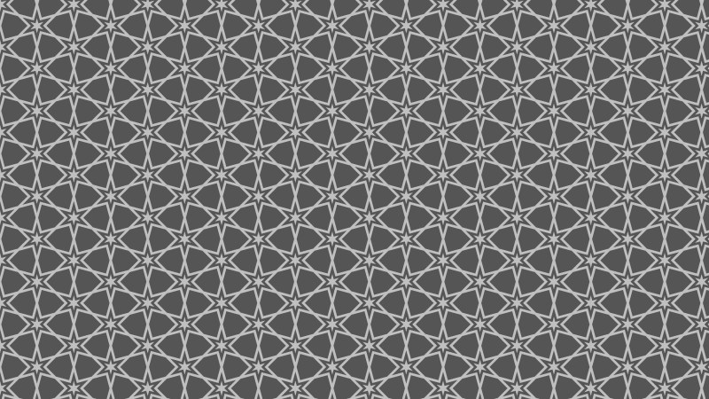 Dark Grey Star Pattern Background Vector Image