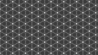 Dark Grey Seamless Star Pattern Vector Illustration
