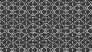 Dark Grey Seamless Star Pattern Background Vector