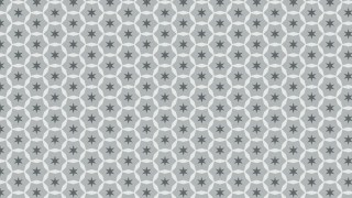 Grey Seamless Star Background Pattern Vector Art