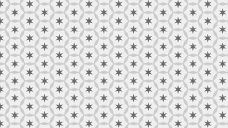 Grey Stars Pattern Graphic