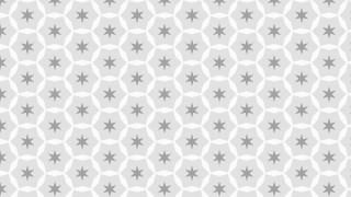 Light Grey Stars Pattern Background Illustration