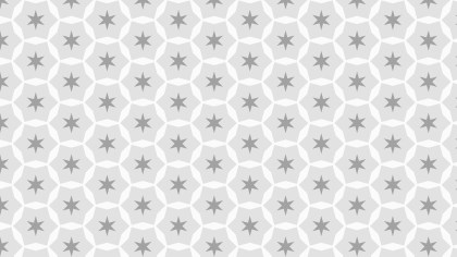 Light Grey Stars Pattern Background Illustration