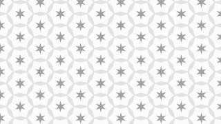 Light Grey Stars Background Pattern Design