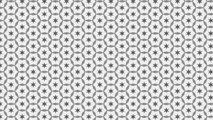 Light Grey Seamless Stars Pattern Image