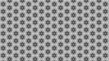 Grey Seamless Star Pattern