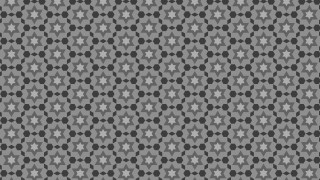 Dark Grey Seamless Star Background Pattern