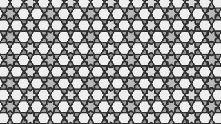 Grey Star Pattern Vector
