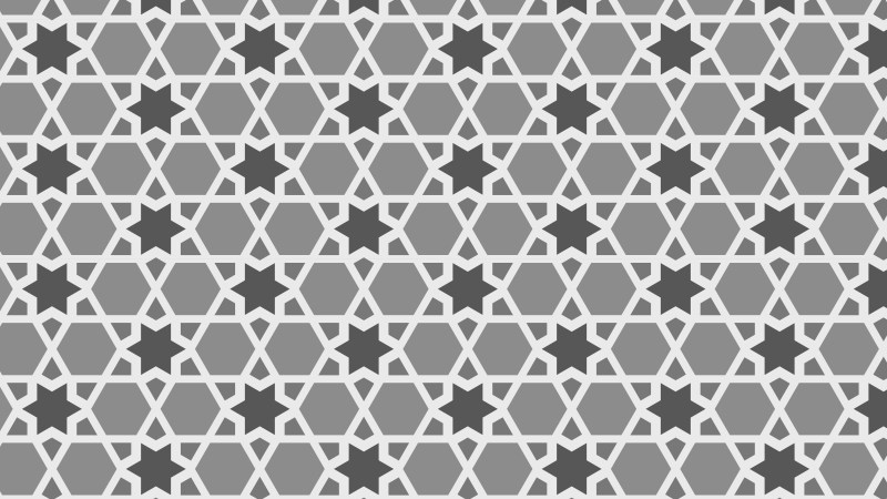 Grey Star Pattern Background Vector Art