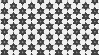 Grey Seamless Star Background Pattern Image